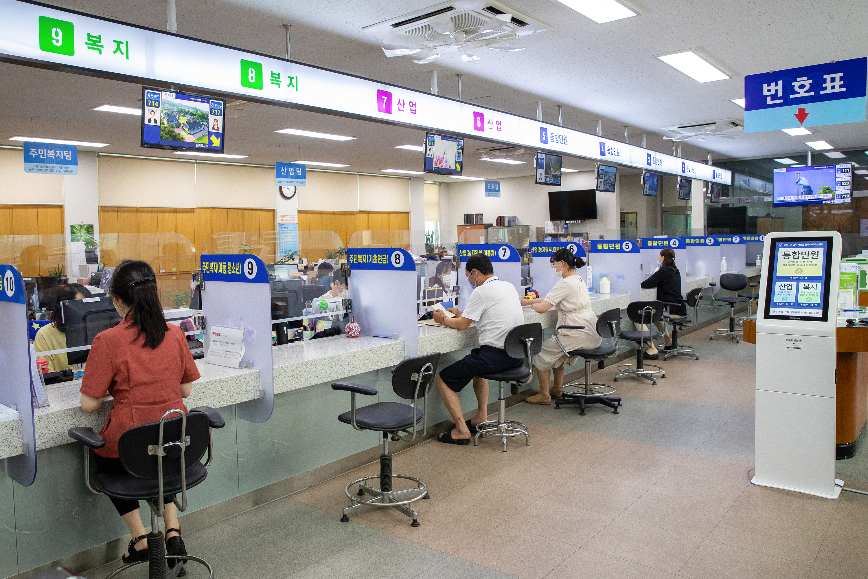 증평군 증평읍, 스마트 민원실로 새단장 [이미지]