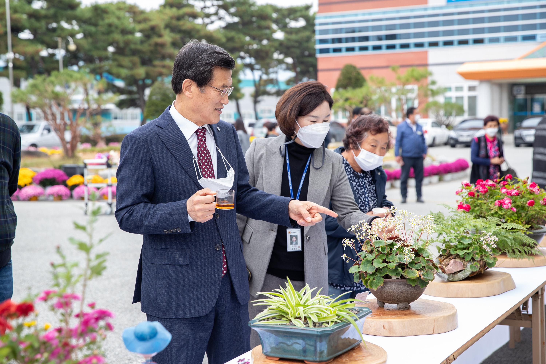 제5기 증평군 농업인대학 수료식· 졸업작품전시회 개최 [이미지]
